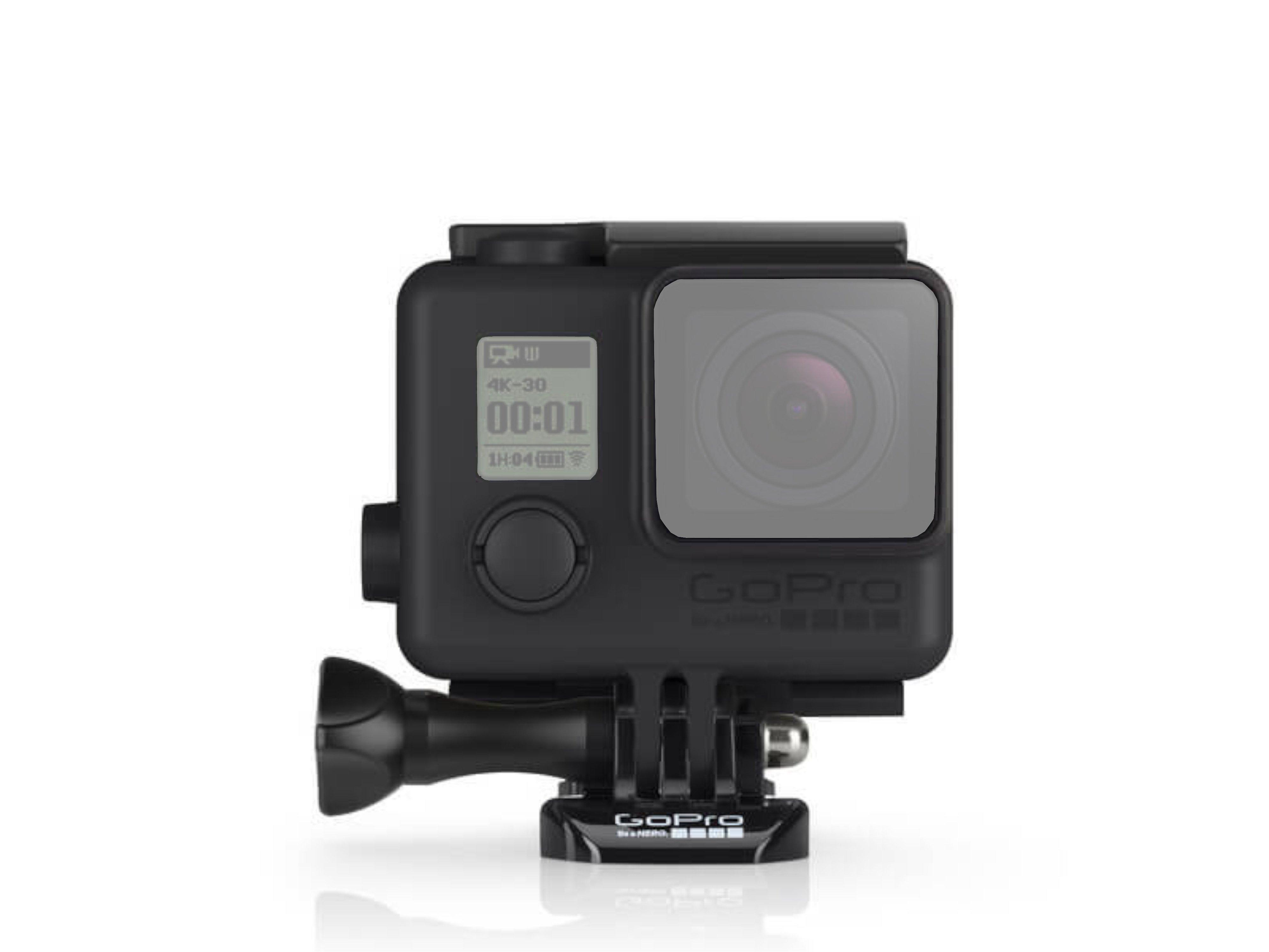 GoPro - Black Housing Front 01 (Ghost)