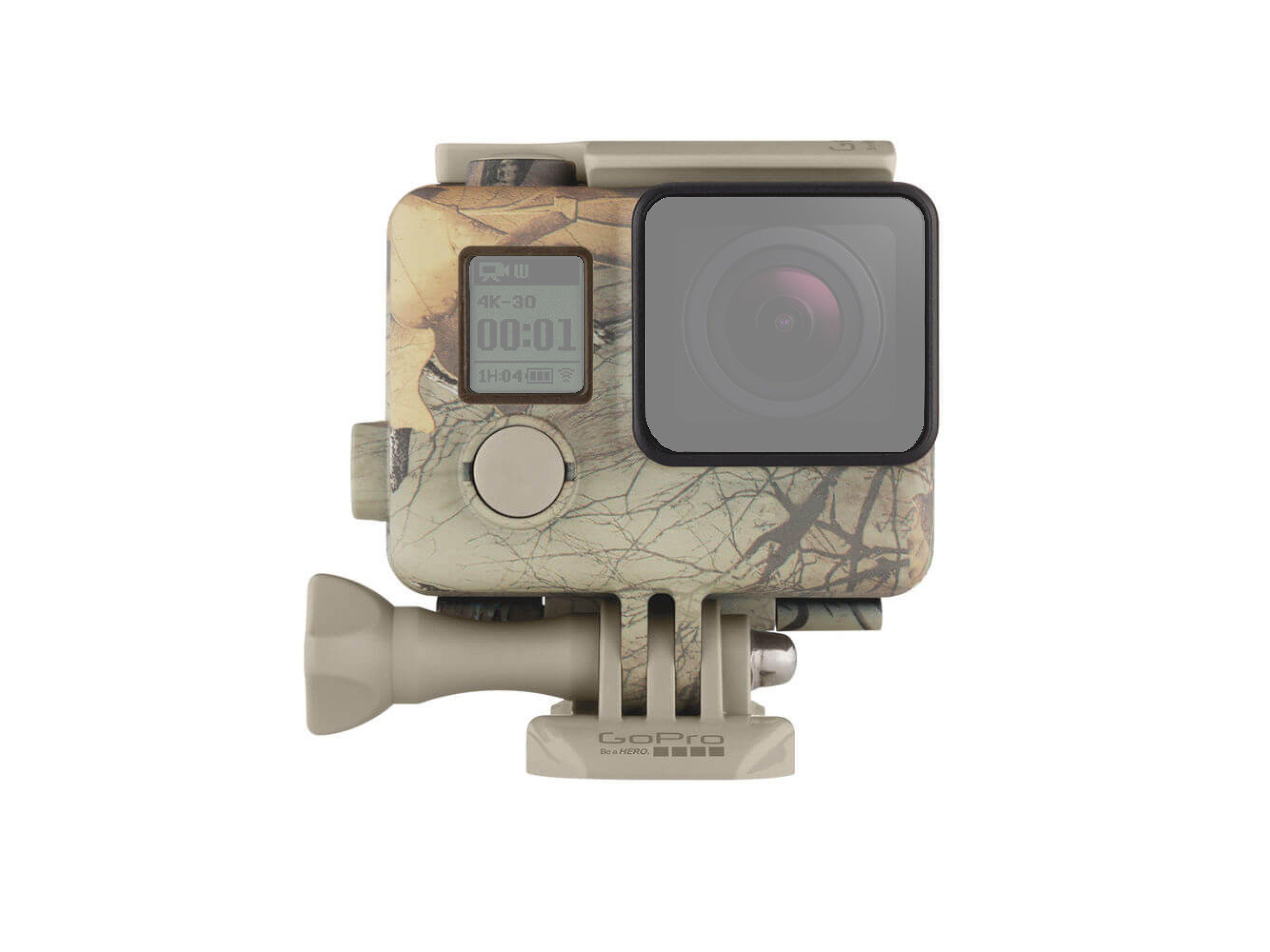 GoPro - Camouflage HousingFront 01 (Ghost)