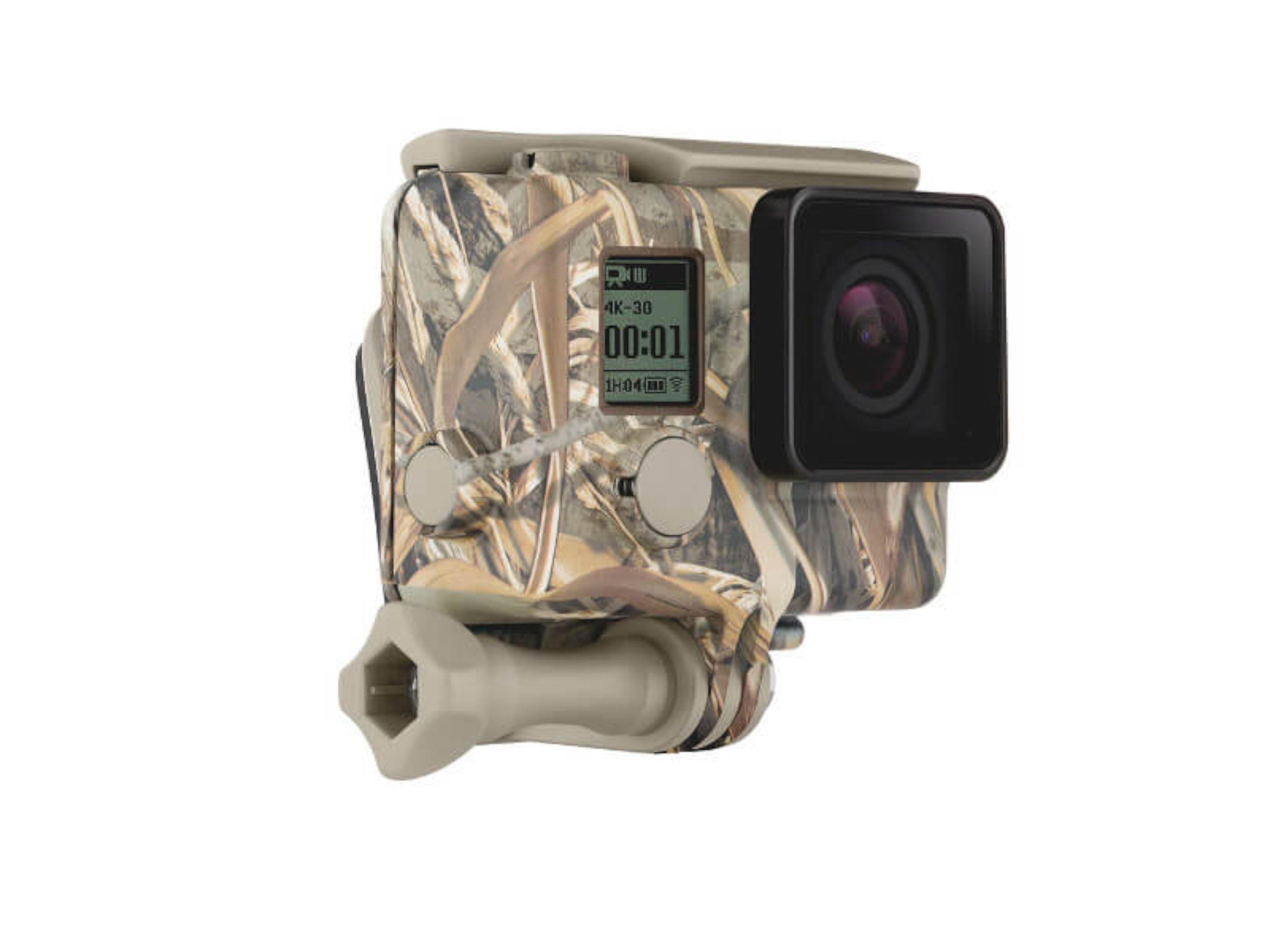 GoPro - Camouflage Housing Front Right 01 (Ghost)