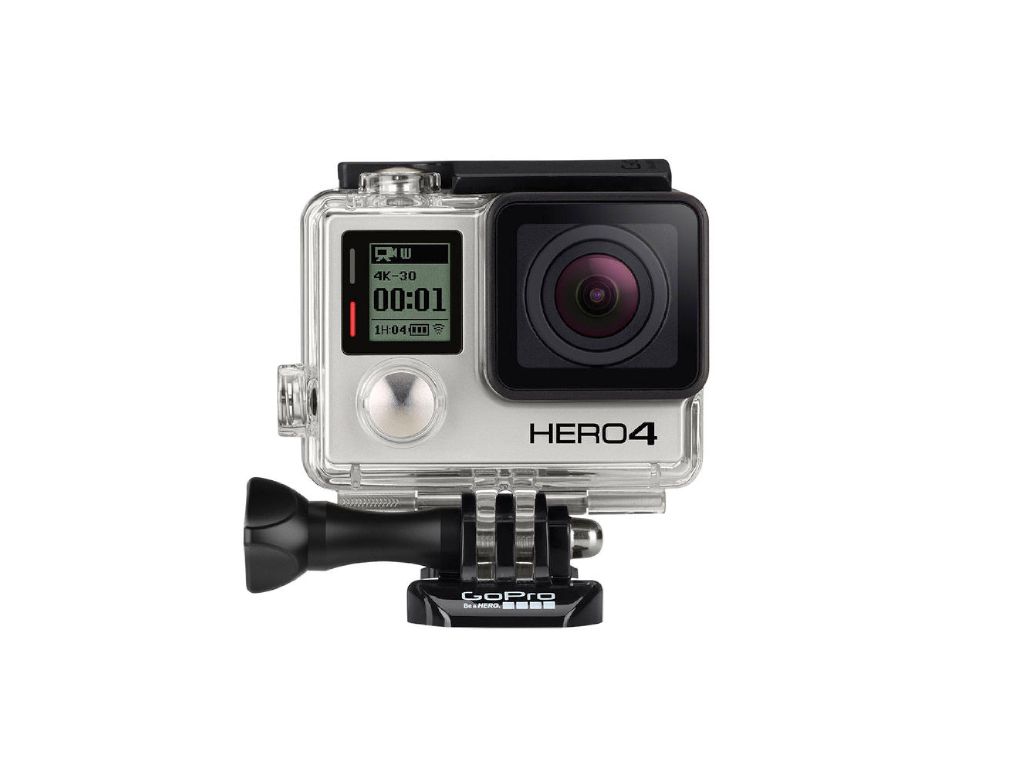 GoPro - Hero 4 Black Front 01